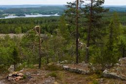 Utsikt från Snöberget